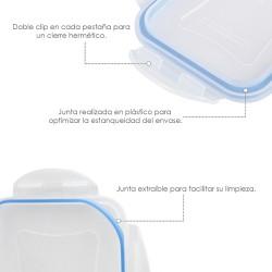 Cuerda Poliester Trenzada Blanco / Azul 18 mm. Bobina 100 m.