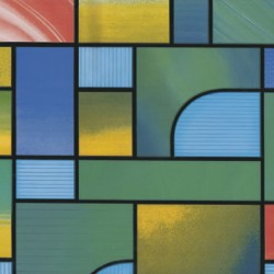 Lamina Adhesiva Translucida Vidriera Verde 45 cm. x 20 metros