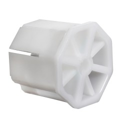 Capsula Persiana Plastico Sin Espiga Para Eje 60 mm.