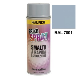 Spray Pintura Gris Plata 400 ml.