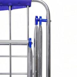 Escalerilla Acero 4 Peldaños Uso Doméstico