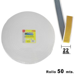 Cinta Persiana Wolfpack Bicolor 22 mm. Rollo 50 metros