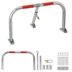 Rueda Industrial Goma Gris Placa  80mm