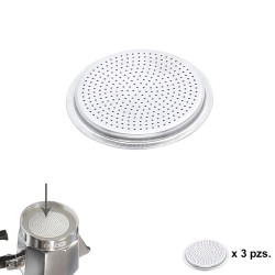 Filtro Cafetera Aluminio Classic / Inducción 6 Tazas (3 Unidades)