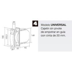 Disco Desbrozador Gasolina Universal 80 Dientes Ø 25 cm.