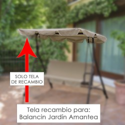 Tela Techo Recambio Balancin Amantea