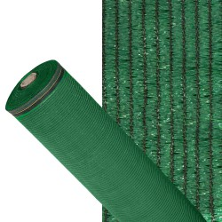 Malla Sombreo 90%, Rollo 1,5 x 50 metros, Reduce Radiación, Protección Jardín y Terraza, Regula Temperatura, Color Verde Claro