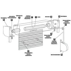 Edil Fragua Polvo Juntas Maurer (Caja 1 kilo)