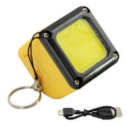 Linterna Led Recargable Con Iman 300 Lumenes Minicubo Recargable / Powerbank