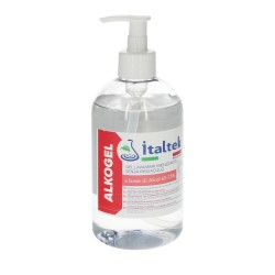 Gel Hidroalcoholico Higienizante 500 Ml. Con Dispensador / Tapon.