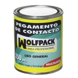Pegamento Contacto Wolfpack   250 cm³