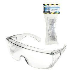 Gafas Proteccion En166 Patillas Ajustables Transparentes