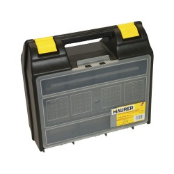 Maletin Electroportatiles Maurer Con Divisiones 360x323x145 mm.