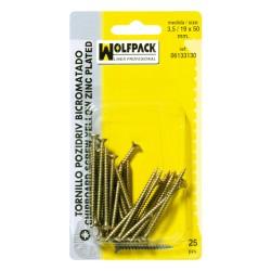 Rueda Domestica Goma Negra Esfera Espiga M10x50 mm.