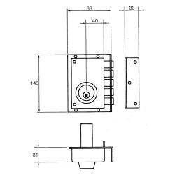 Carretilla Plegable Aluminio Portatil   90 kg.