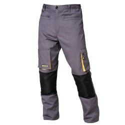Pantalon Gris/Amarillo Largo Talla 50/52 XL