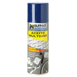 Aceite Multiuso Triple Accion Wolfpack Spray 270 ml.