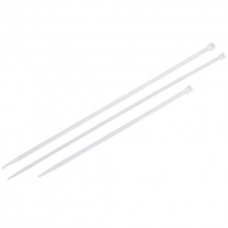 Bridas Nylon 100% Natural 4,5x200 mm. (Bolsa 100 Unidades)