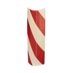 Rueda Industrial Goma Negra Fija 125 mm.