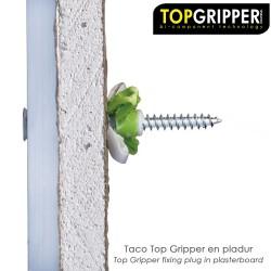 """Letra Latón """"D"""" 10 cm. con Tornilleria Oculta (Blister 1 Pieza)"""