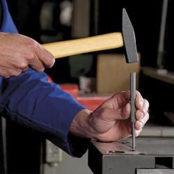 "Letra Latón ""L"" 10 cm. con Tornilleria Oculta (Blister 1 Pieza)"