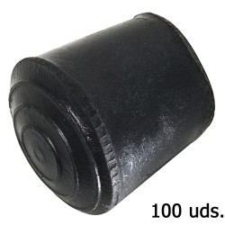 Contera Goma Conica 18 mm.   Bolsa 100 Unidades
